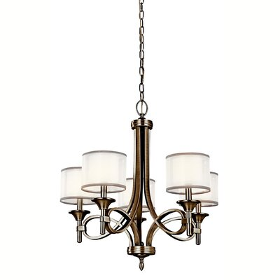 Boswell 5-Light Drum Chandelier