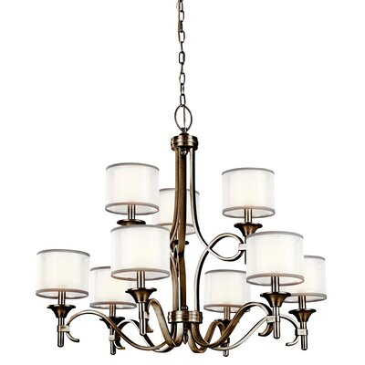Boswell 9-Light Drum Chandelier