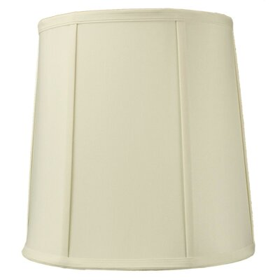 12 Solid Linen Drum Lamp Shade