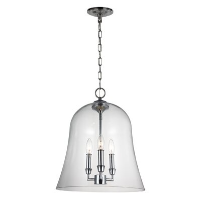 Harlan 3-Light Inverted Pendant