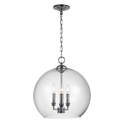 Harlan 3-Light Globe Pendant
