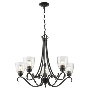 Sheila 5-Light Candle-Style Chandelier