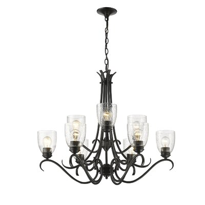 Gainseville 9-Light Candle-Style Chandelier