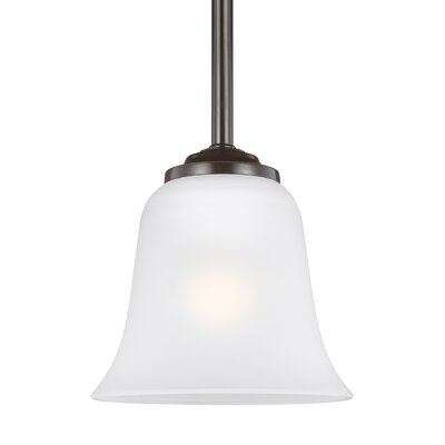 Burhall 1-Light Mini Pendant Finish: Heirloom Bronze