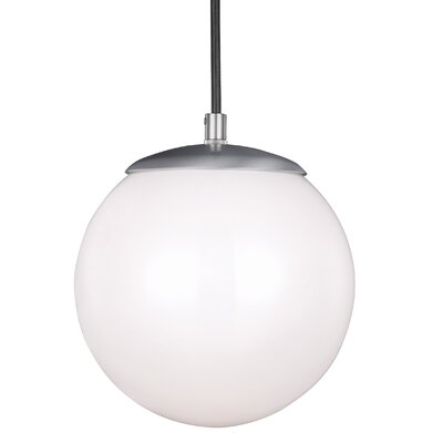 Graybeal 100W 1-Light Globe Pendant