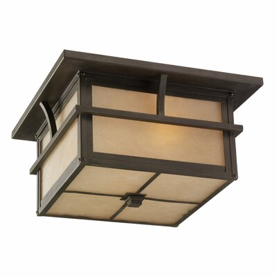 Bush Creek 2-Light Flush Mount Energy Star Compliant: No