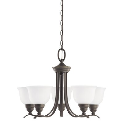 Busti 5-Light Shaded Chandelier