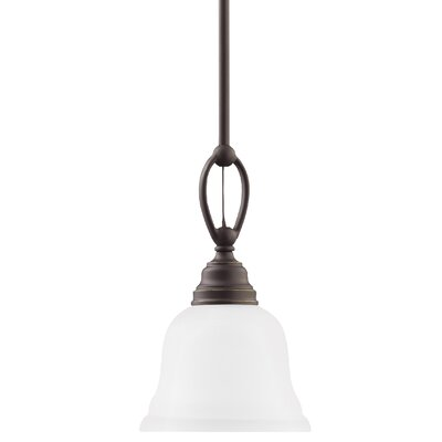 Busti 1-Light Mini Pendant Base Finish: Heirloom Bronze
