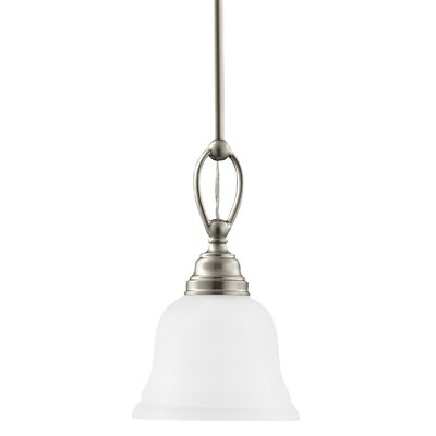 Busti 1-Light Mini Pendant Base Finish: Brushed Nickel