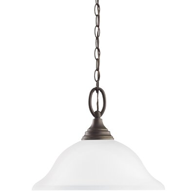 Busti 1-Light Inverted Pendant Base Finish: Heirloom Bronze