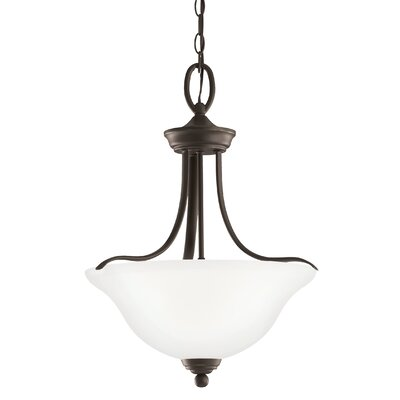 Busti 3-Light Bowl Pendant Base Finish: Heirloom Bronze