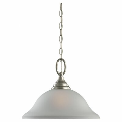 Busti 1-Light Pendant Lighting Type: Non-Energy Star, Finish: Brushed Nickel