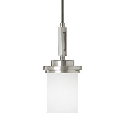 Dashiell 1-Light Mini Pendant Base Finish: Brushed Nickel