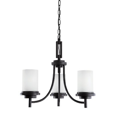 Buswell 3-Light Candle-Style Chandelier Finish: Blacksmith
