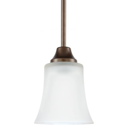 Buren 1-Light Mini Pendant Finish: Bell Metal Bronze