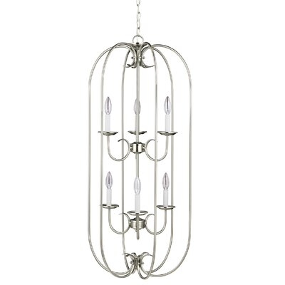 Buren 6-Light Foyer Pendant Finish: Bronze