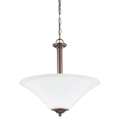 Buren 3-Light Bowl Pendant Finish: Bronze