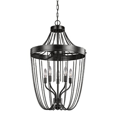 Byrd 5-Light Foyer Pendant