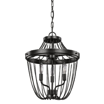 Rebekah 3-Light Foyer Pendant