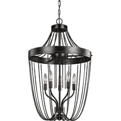 Rebekah 5-Light Empire Chandelier