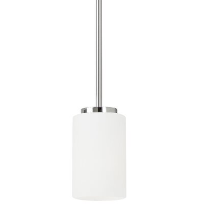 Gaskell 1-Light Mini Pendant Finish: Chrome