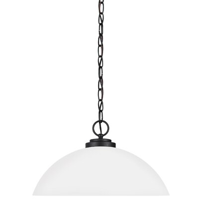 Gaskell 1-Light Inverted Pendant Finish: Blacksmith