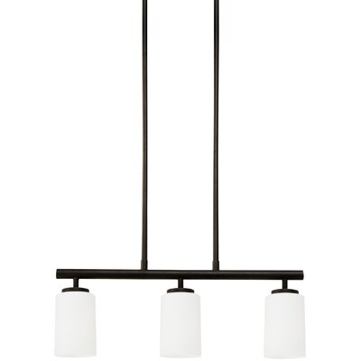 Gaskell 3-Light Kitchen Island Pendant Finish: Blacksmith