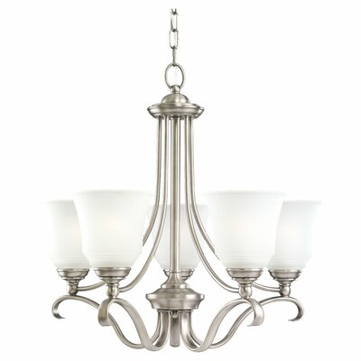 Culley 5-Light  Shaded Chandelier