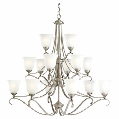 Culley 15-Light Shaded Chandelier