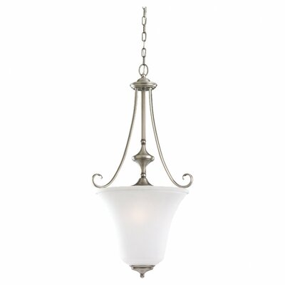 Culley 3-Light Foyer Pendant Finish: Antique Brushed Nickel