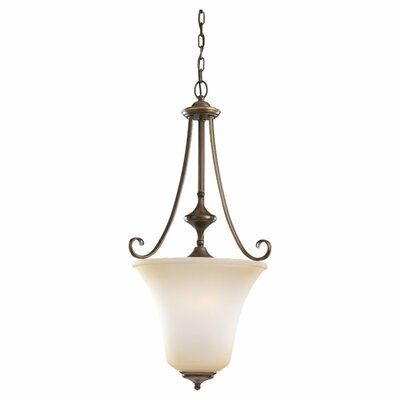 Culley 3-Light Foyer Pendant Finish: Russet Bronze