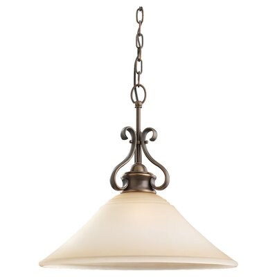 Culley 1-Light Pendant Finish: Regal Bronze, Bulb Type: Incandescent A19 150W