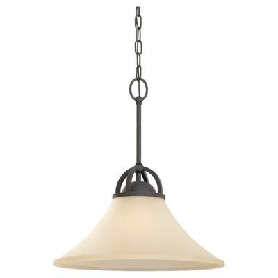 Bushmills 1-Light Pendant Finish: Blacksmith, Bulb Type: Incandescent A19 150W