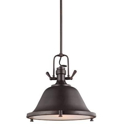 Chiaramonte 2-Light Inverted Pendant Finish: Burnt Sienna