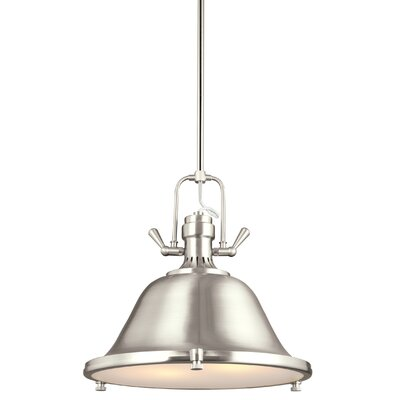 Chiaramonte 2-Light Inverted Pendant Finish: Brushed Nickel