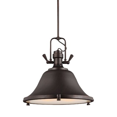 Chiaramonte 3-Light Inverted Pendant Finish: Burnt Sienna