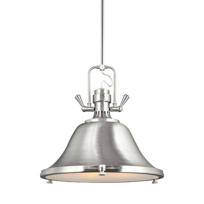 Chiaramonte 3-Light Inverted Pendant Finish: Brushed Nickel