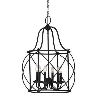 Cottingham 6-Light Foyer Pendant