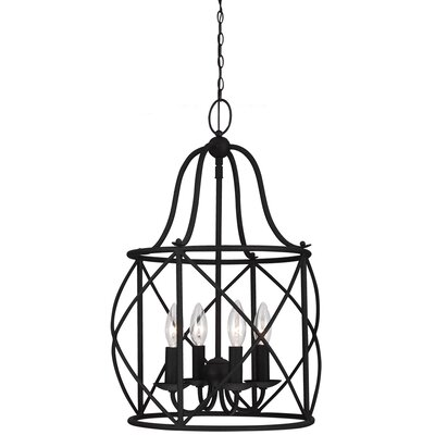 Cottingham 4-Light Foyer Lantern Pendant