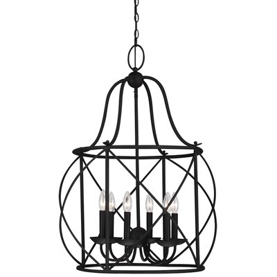 Cottingham 6-Light Foyer Lantern Pendant