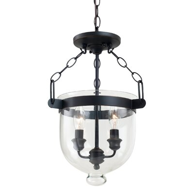 Cuffee 2-Light Foyer Pendant