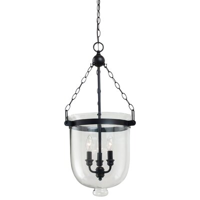 Cuffee 3-Light Foyer Pendant Size: 28.75 H x 14 W x 14 D