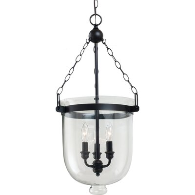 Cuffee 3-Light Indoor Pendant Size: Large