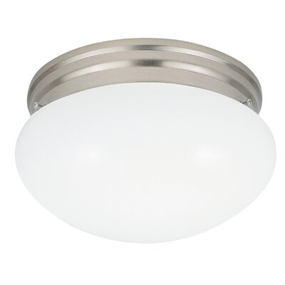 Bustamante Flush Mount Finish: Brushed Nickel