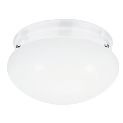 Bustamante Flush Mount Finish: White
