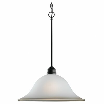 The Burkes 1-Light Pendant Finish: Heirloom Bronze