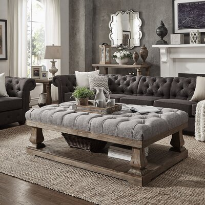 Gowans Coffee Table Top Finish: Gray