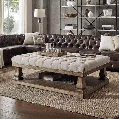 Gowans Coffee Table Top Color: Beige