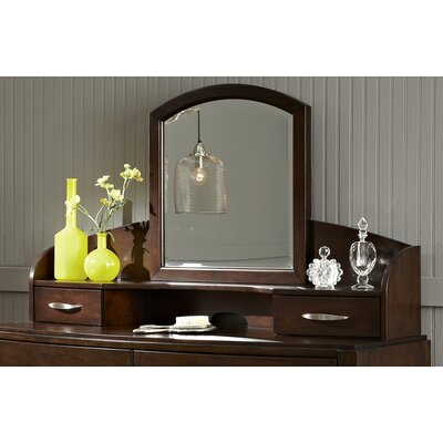 Loveryk 13 H x 47 W Desk Hutch Finish: Dark Truffle