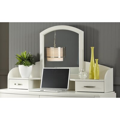 Loveryk 13 H x 47 W Desk Hutch Finish: White Truffle